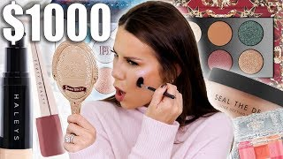 $1000 NEW SEPHORA MAKEUP TESTED
