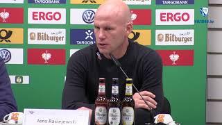 Die Pressekonferenz nach dem Spiel SC Paderborn 07 - VfL Bochum 1848