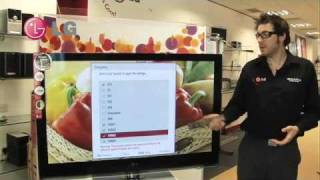 LG Picture Wizard - How to optimise your TV settings