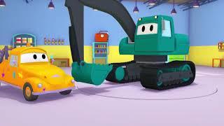 Ethan ist ein T-Rex ! - Die Lackierwerkstatt von Tom in Car City 🎨 Cartoons für Kinder