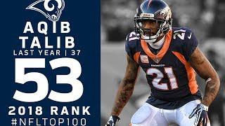 #53: Aqib Talib (CB, Broncos) | Top 100 Players of 2018 | NFL