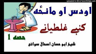 sheikh abu hassaan swati pashto bayan -  مانځه او اودس کښی غلطیانې - حصه 1