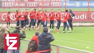 FC Bayern: Training mit Lücken und einigen Rückkehrern