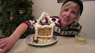 I Made A Savory Gingerbread House!