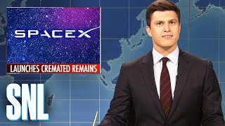 Weekend Update: SpaceX Launches Rocket with Cremated Remains - SNL