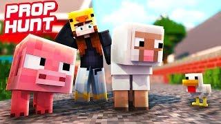 HETTY WIRD GETROLLT!   Minecraft Prop Hunt