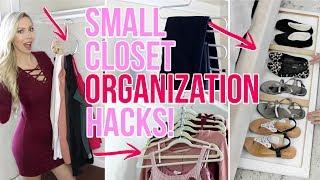 Small Closet Organization Ideas!