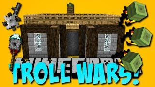 Die sicherste Minecraft Base! (Raketen, Gravitation, TNT-Schutz) (Troll Wars)