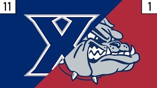 11 Xavier vs. 1 Gonzaga Prediction | Who