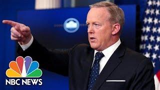 Sean Spicer's Greatest Hits   NBC News
