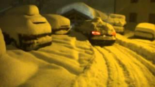 audi A6 quattro snow