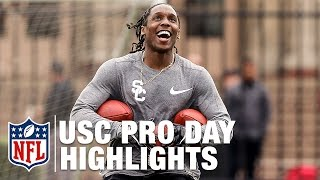 Adoree Jackson & JuJu Smith-Schuster USC Pro Day Highlights | NFL