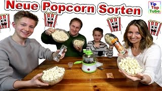 Neue Popcorn Sorten | Das Experiment mit Knall TipTapTube