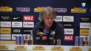 Die Pressekonferenz vor der Partie VfL Bochum 1848 - Karlsruher SC