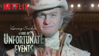 A Series of Unfortunate Events Season 2   Count Olaf in Disguise   Netflix