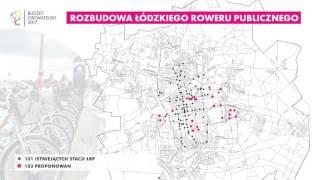 103 nowe stacje Łódzkiego Roweru Publicznego