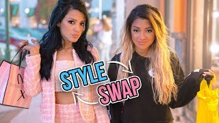 Opposite Twins Swap Clothes for a Week!!
