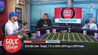 Trey Wingo falls asleep during NBA comparisons for Luka Doncic   Golic & Wingo   ESPN