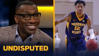 Shannon Sharpe is excited for Ja Morant