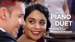 The Princess Switch | Stacy and Prince Edward Play a Magical Piano Duet | Netflix