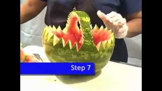 How To: Carve A Fruit Watermelon Basket