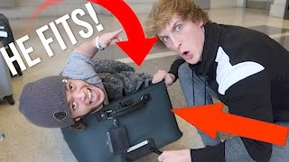 SMUGGLING A DWARF TO PARIS IN A SUITCASE! (and it worked)