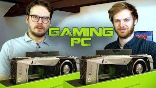 Monster-PC mit zwei Nvidia 1080 Ti im SLI-Betrieb!