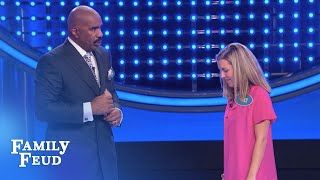Check out this nail biting Fast Money!!! | Family Feud