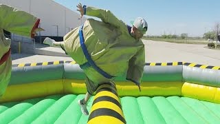 Giant Sumo Battle | Dude Perfect