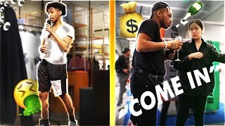 SHOPPING at Designer Stores AS A HOMELESS GUY vs. RICH GUY!! (Social Experiment)