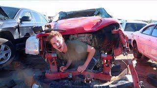 HUNDREDS OF DESTROYED CARS!