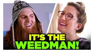 A 420 Visit from The Weed Man