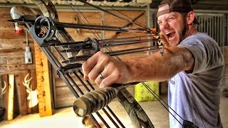 Shooting 10 Arrows at Once...