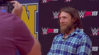 Daniel Bryan unveils WWE 2K19 2K Showcase at his high school