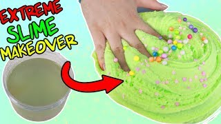EXTREME SLIME MAKEOVER ~ fixing old ugly slimes! Slimeatory #440
