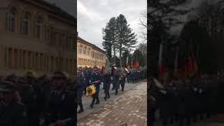 Öffentlicher Empfang für die Auslandssoldaten der Gebirgsjägerbrigade in Bad Reichenhall