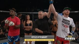 Kyle Stewart Out Works Jaleel Willis to Stay Perfect | LFA 33 Highlights