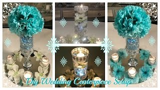 DIY - WEDDING CENTERPIECE  IDEAS AND AMAZE AWAY GIVEAWAY