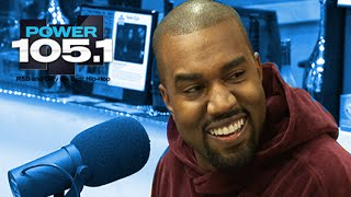 Kanye West Interview at The Breakfast Club Power 105.1 (02/20/2015)