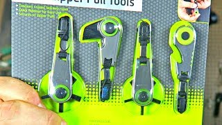 4 Zipper EDC Gadgets