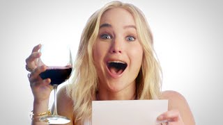 Jennifer Lawrence Invites You to Go Wine Tasting with Her // Omaze