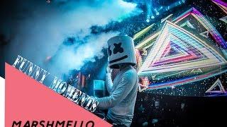 Funny Moments Marshmello 2017