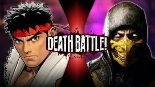 Ryu vs Scorpion   DEATH BATTLE!