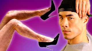 The Try Guys Wear High Heels For A Night
