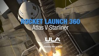 Rocket Launch 360: Atlas V Starliner