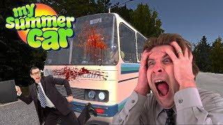 DRUNK IN PUBLIC TRANSPORT - My Summer Car Gameplay Part 6