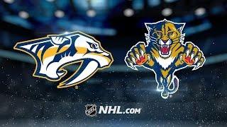 Predators shutout Panthers