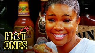 Gabrielle Union Impersonates DMX While Eating Spicy Wings | Hot Ones