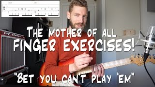 The Mother Of All Finger Exercises - Bet you can