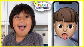 NEW Memoji iPhone Custom Animoji of yourself with Ryan